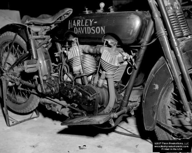 One of Jim's Bikes (Circa 1924) - Flash Productions, LLC