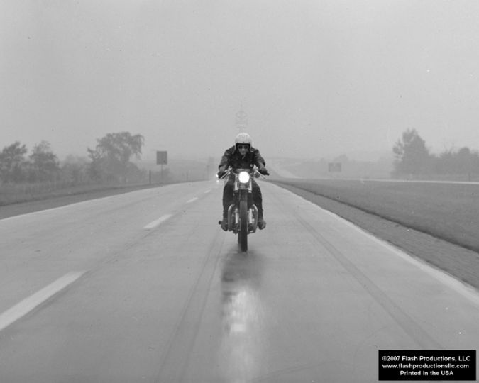 Riding In The Rain - Copyright 2008 Flash Productions, LLC